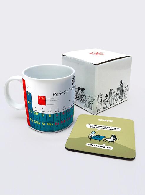 Periodic Mug & Coaster Set