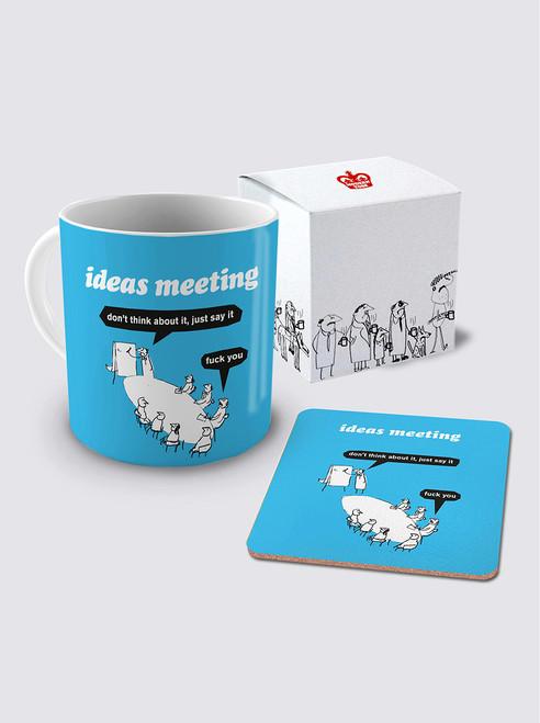 Ideas Meeting & Coaster Set