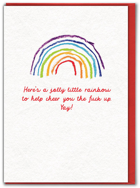 Cheer The Fuck Up Card