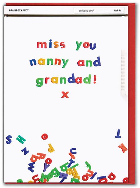 Miss You Nanny And Grandad