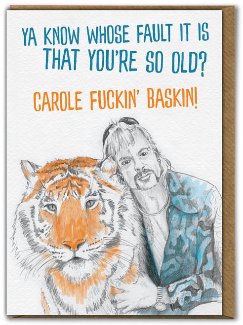 Tiger King Old