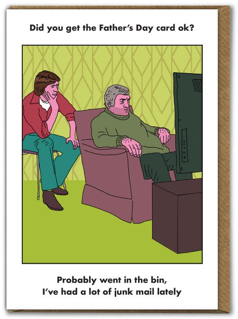 Fathers Day Junk Mail Card