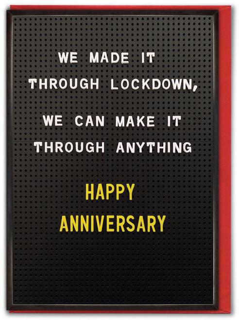 Lockdown Anniversary