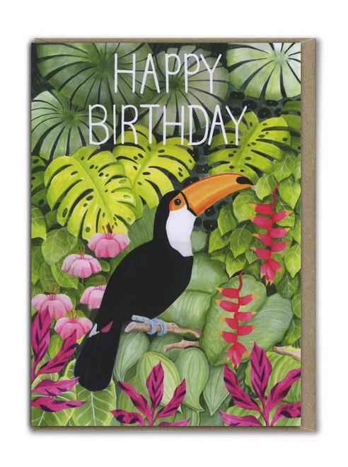 Happy Birthday Toucan Card