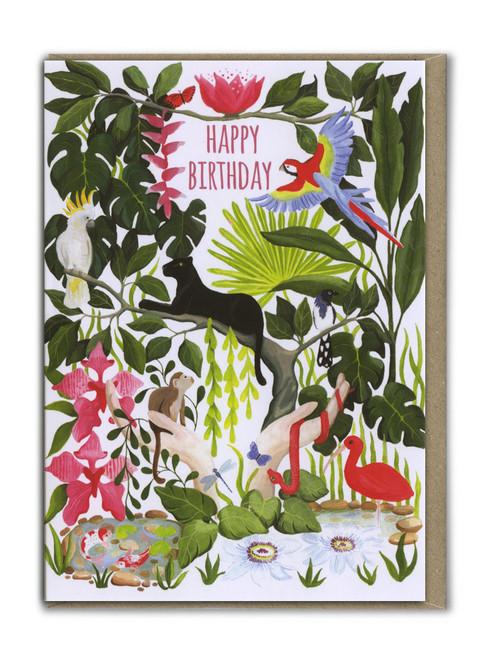Happy Birthday Jungle Card