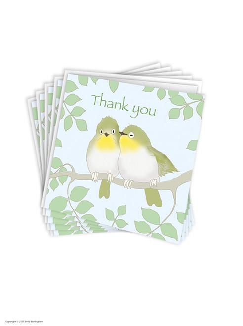 Multi Pack of 6 Thank You Greeting Cards - Emily Burningham Range