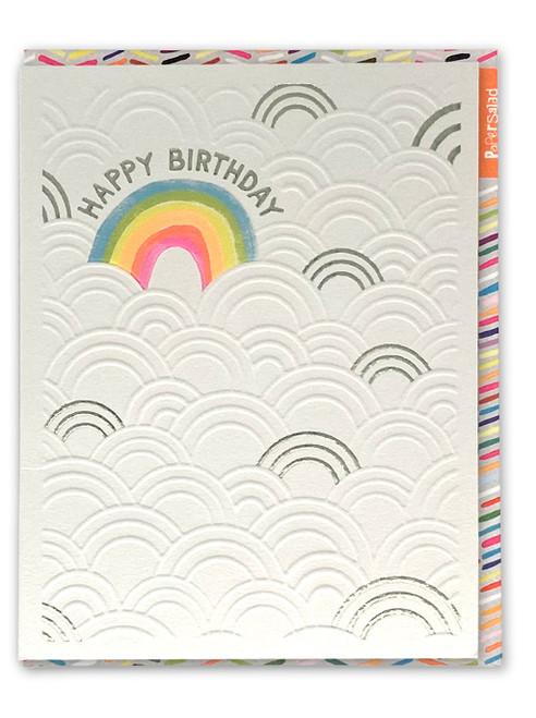 Birthday Rainbow Card