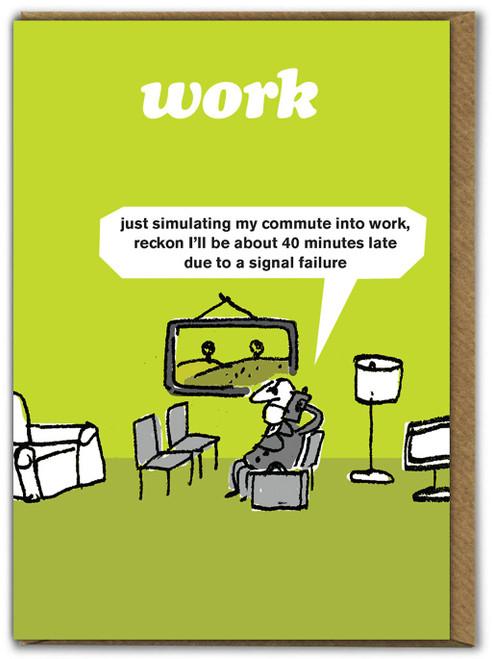 Work Commute Card