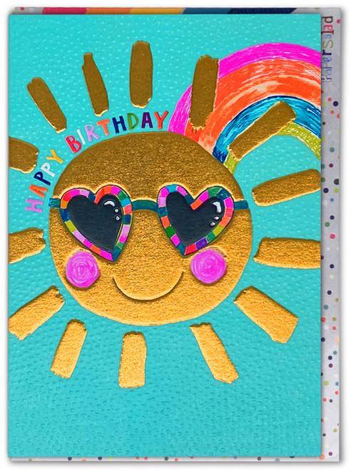Sunshine Happy Birthday Card