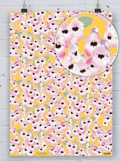 Starburst Orchid - Emily Burningham Gift Wrap