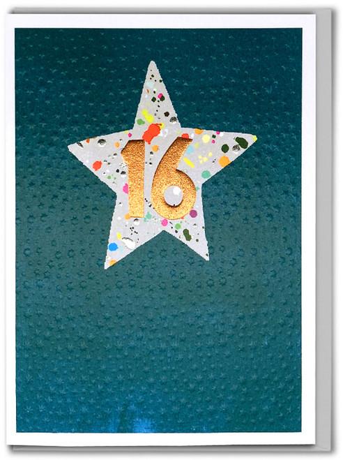 Age 16 Boy Birthday Card