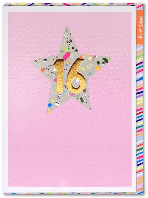 Age 16 Girl Birthday Card