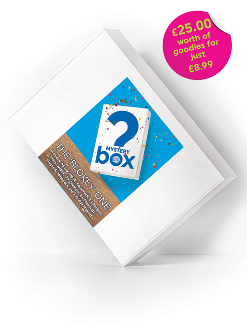 Mystery Bargain Box (Blokey Box) £25 Of Goodies For Just £10