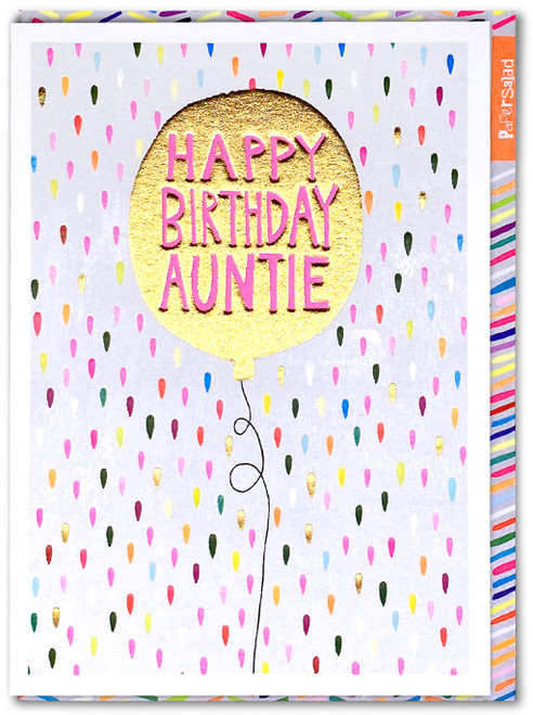 Happy Birthday Auntie Card