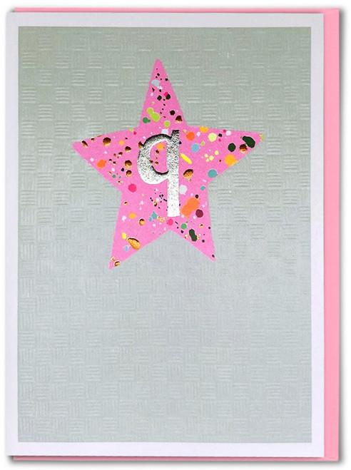 Age 9 Girl Birthday Card