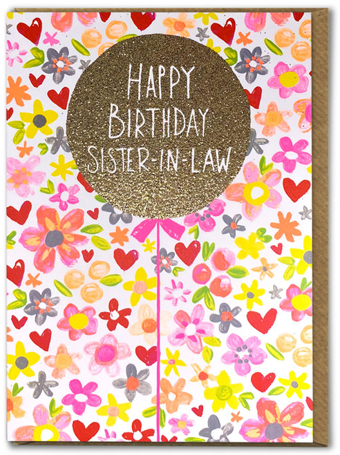 Happy Birthday Sister - In- Law Card