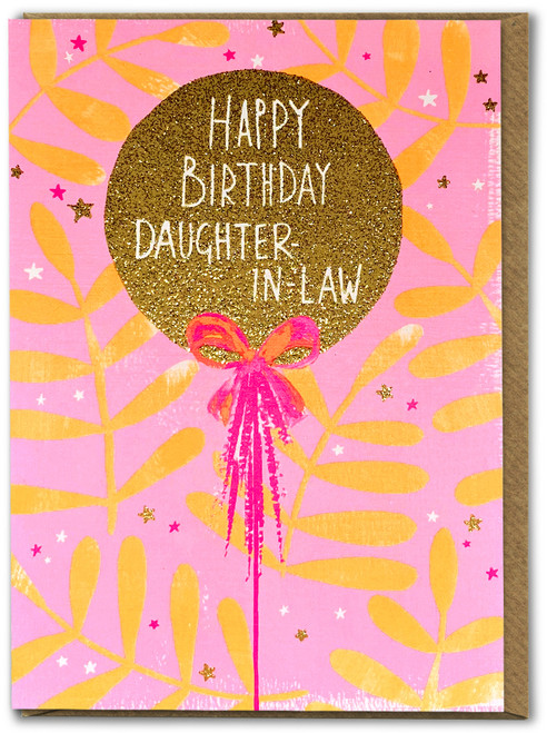 Happy Birthday Daughter-In-Law Card