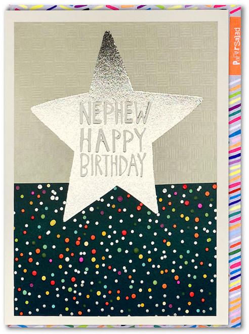 Happy Birthday Nephew Card