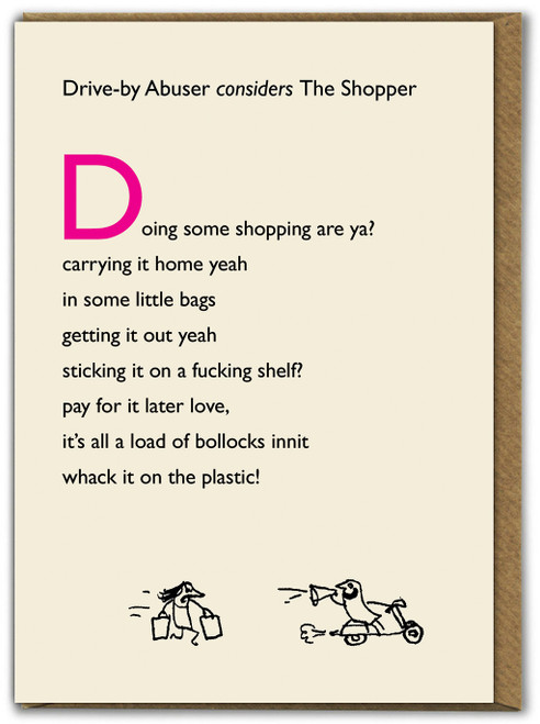 Drive By The Shopper Card