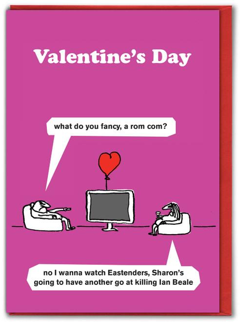 Eastenders Valentines Cards