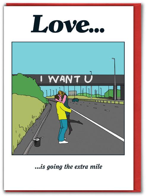 Love Bridge Valentines Card
