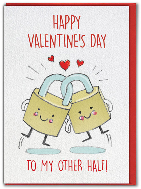 Other Half Cute  Valentines Card