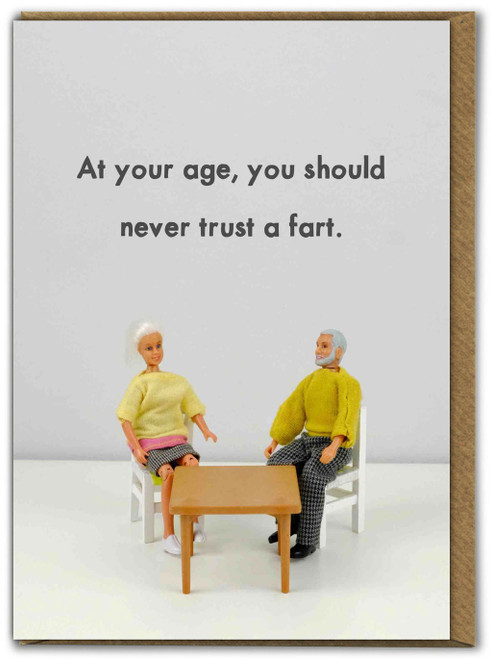 Never Trust A Fart