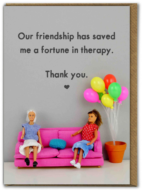 Friendship Saved A Fortune In Therapy