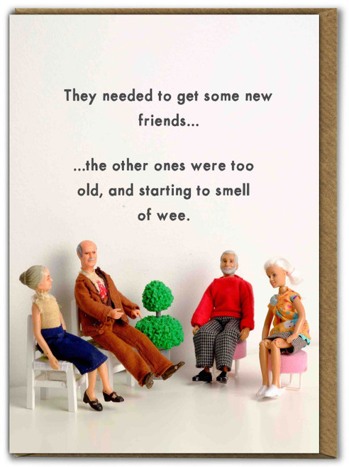 Old Friends Smell Of Wee