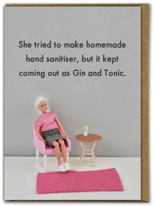 Hand Santiser Gin & Tonic