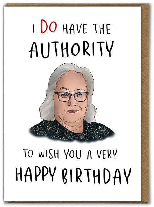 Jackie Weaver Birthday Card