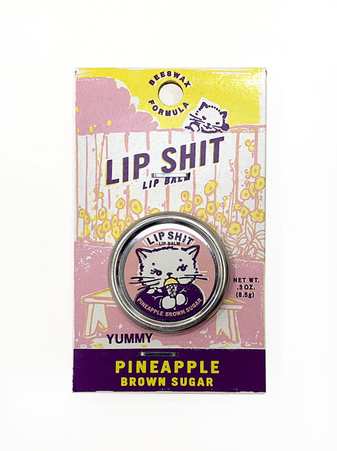 Pineapple Brown Sugar Lip Shit Balm