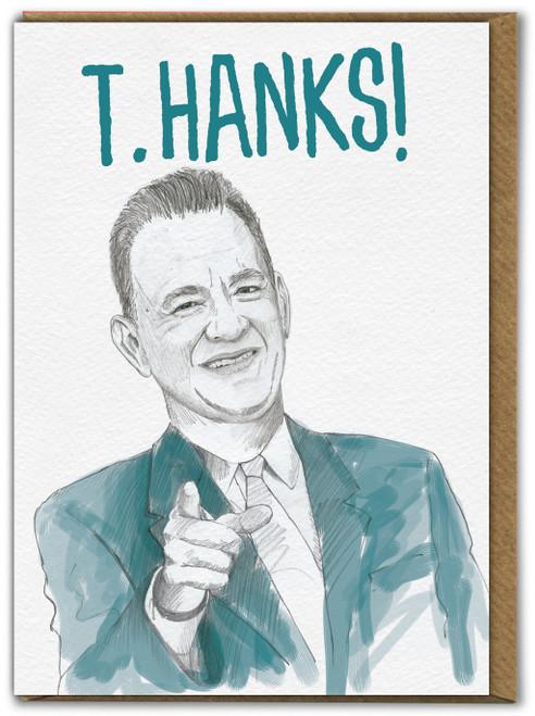 Tom Hanks Thank You Card