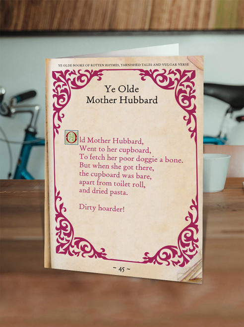 Old Mother Hubbard Hoarder