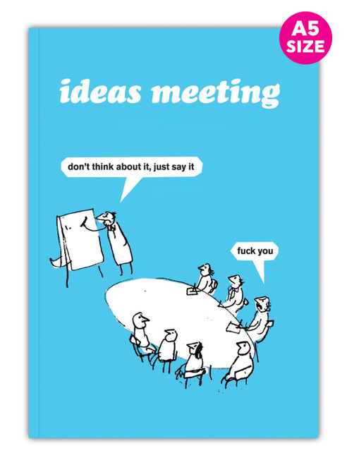 Ideas Meeting A5 Notebook / Notepad