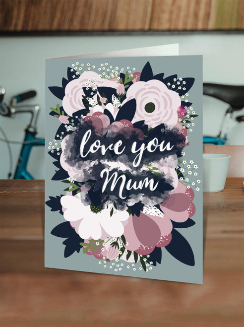 Mothers Day Love you Mum - Flowers