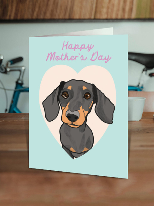 Dachshund Mother's Day