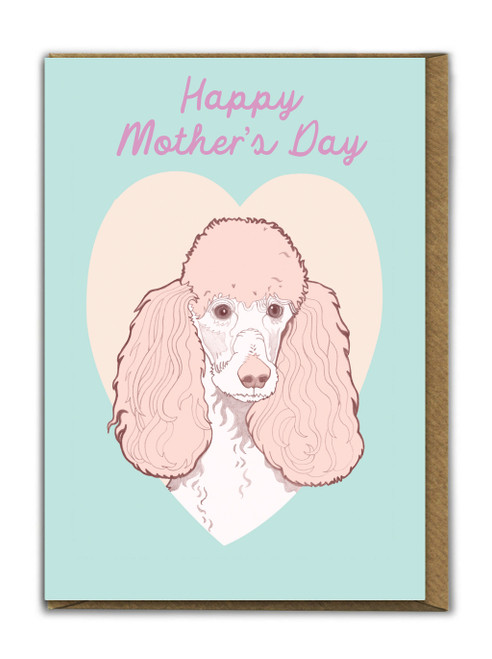 Poodle Mother's Day