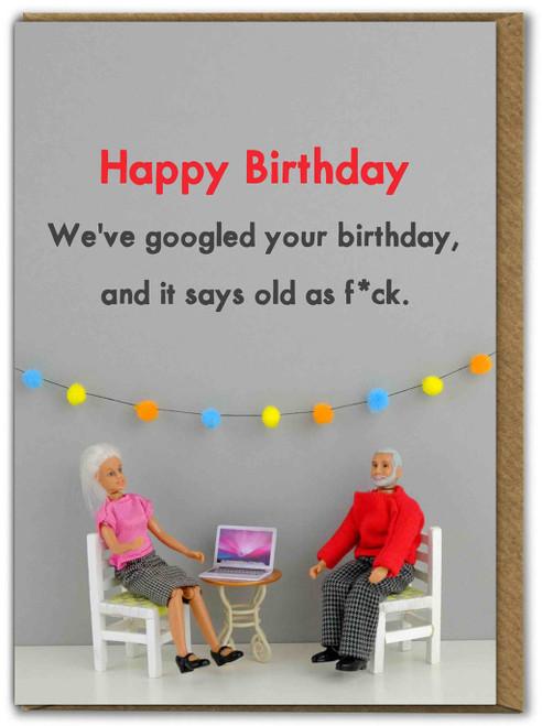 Googled Your Birthday