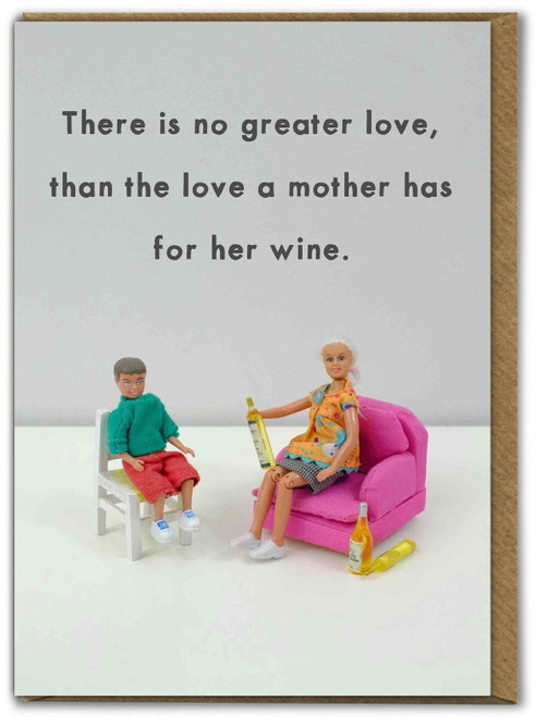 No Greater Love Mothers Day Card