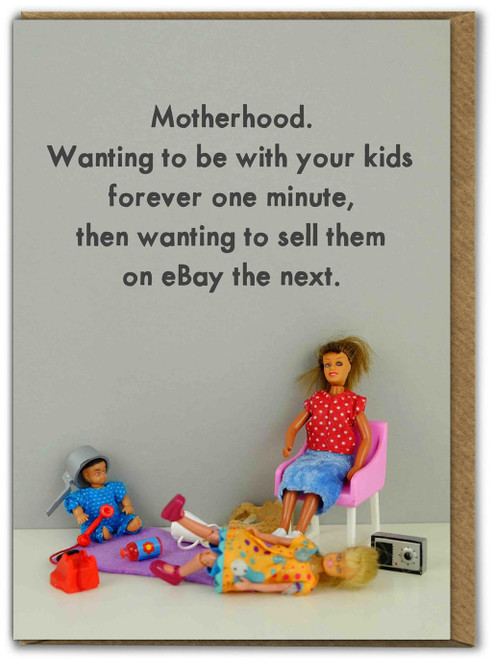 Sell Them On eBay Mothers Day Card