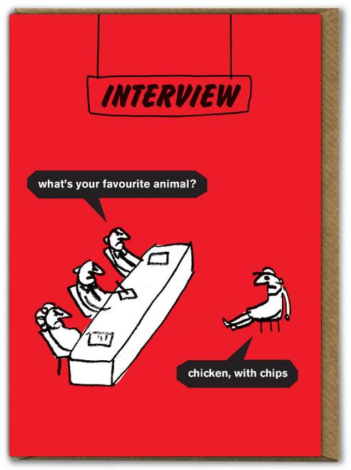 Favourite Animal Card