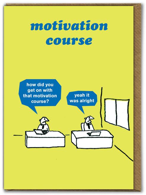 Motivation Course Card