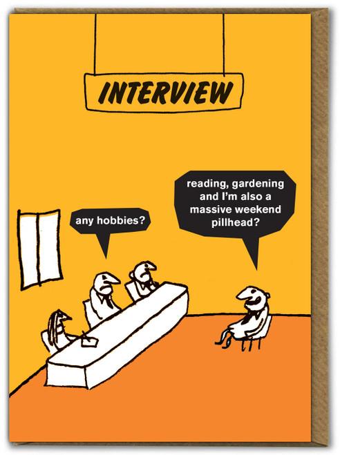 Weekend Pillhead Card