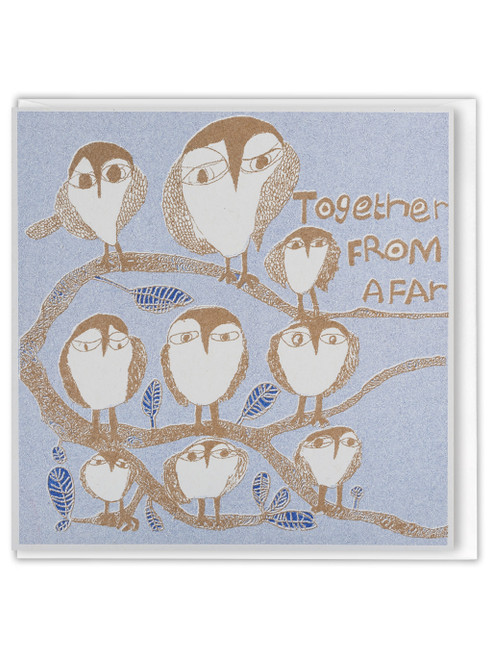 ARTHOUSE Unlimited Together From Afar Greetings Card