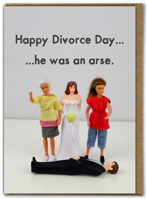 Divorce Greetings Card