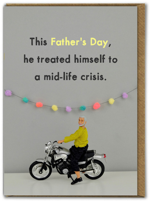 Father's Day Mid Life Crisis Card
