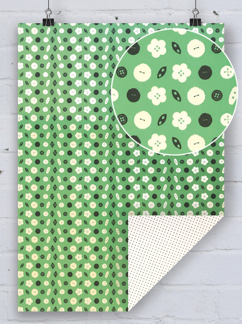 Buttons - Gift Wrap By Rosehip Cards