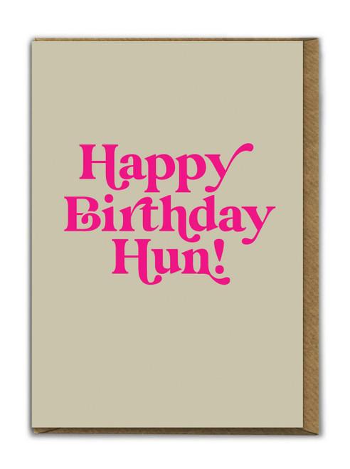 Birthday Hun Card