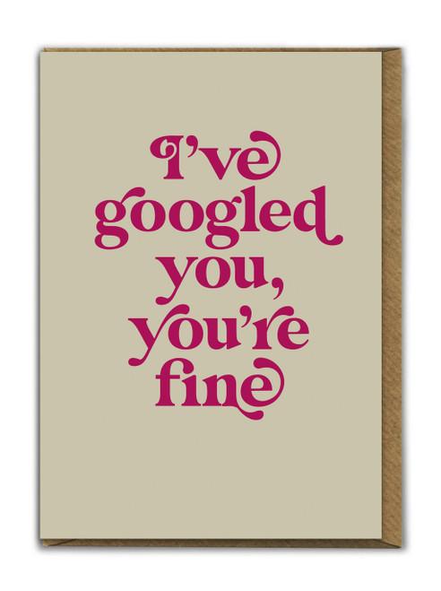 Googled You Card